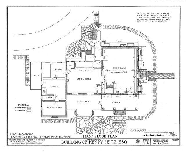 First Floor Plan Sm