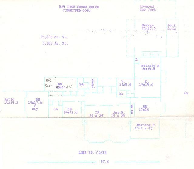 824 Lake Shore Floor Plan