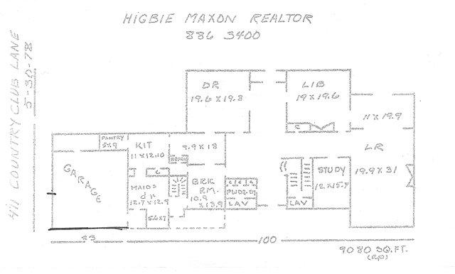 411 CC Lane floor plan 1 Sm