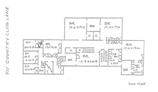 411 CC Lane floor plan 2 Sm