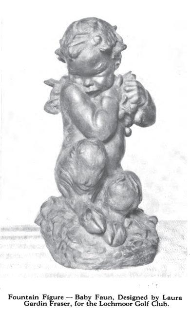 Fountain Figure