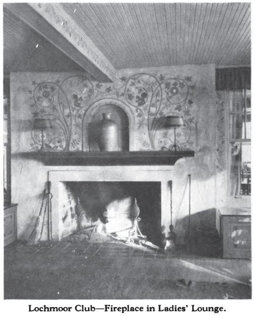Ladies Fireplace